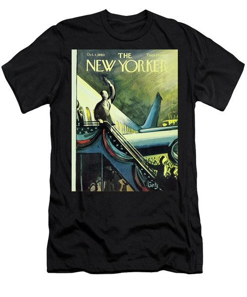 New Yorker October 1 1960 Men's T-Shirt (Athletic Fit)
