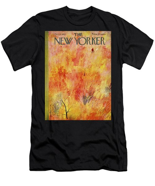 New Yorker October 12th 1957 Men's T-Shirt (Athletic Fit)