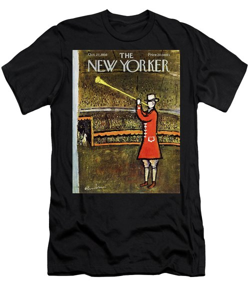 New Yorker October 27 1956 Men's T-Shirt (Athletic Fit)