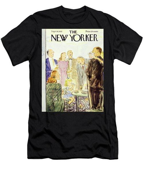 New Yorker September 19 1953 Men's T-Shirt (Athletic Fit)