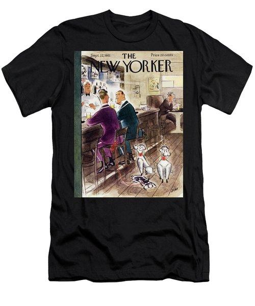 New Yorker September 22 1951 Men's T-Shirt (Athletic Fit)