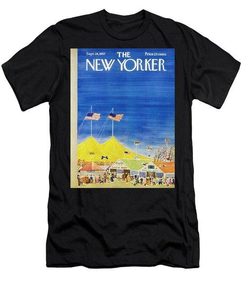 New Yorker September 28 1957 Men's T-Shirt (Athletic Fit)