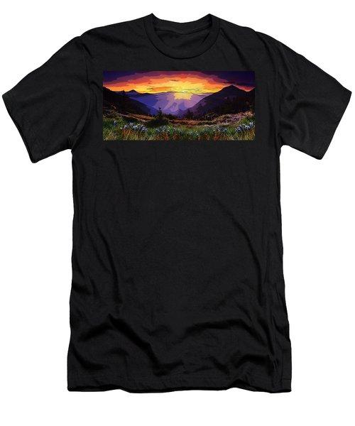 New Zealand  Men's T-Shirt (Athletic Fit)