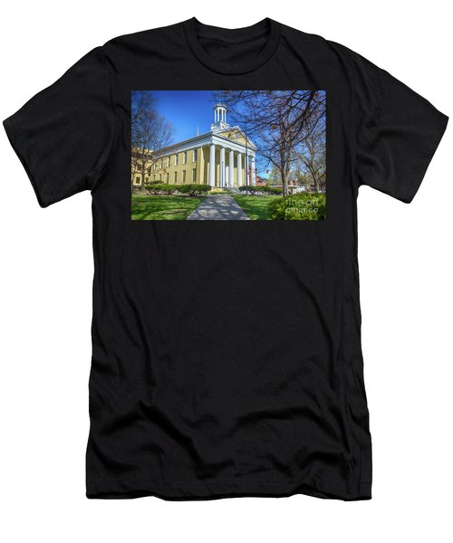 Newburgh Courthouse On Grand Street 1 Men's T-Shirt (Athletic Fit)