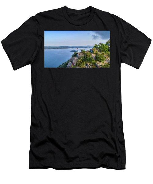 Newburgh From Breakneck Ridge Men's T-Shirt (Athletic Fit)