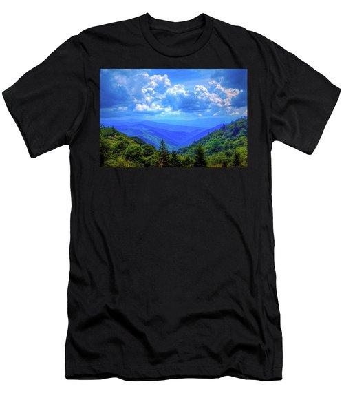 Newfound Gap Men's T-Shirt (Slim Fit) by Dale R Carlson