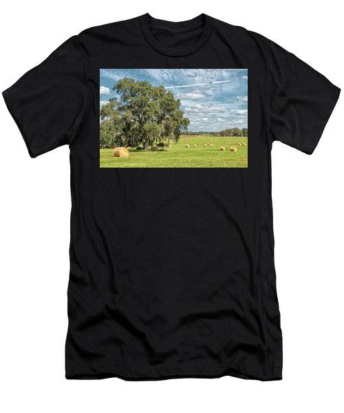 Newly Baled Hay Men's T-Shirt (Athletic Fit)