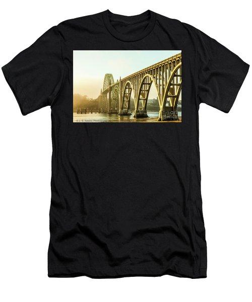 Newport Bridge Men's T-Shirt (Athletic Fit)