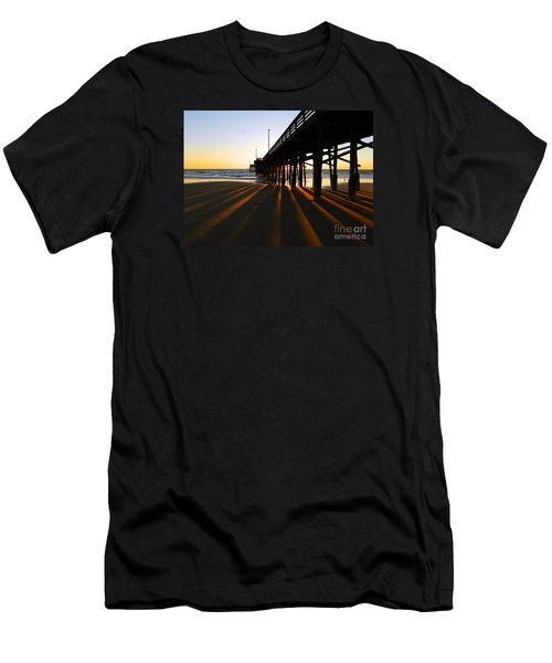 Newport Pier, Newport Beach   Men's T-Shirt (Athletic Fit)