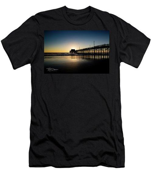 Newport Pier Men's T-Shirt (Athletic Fit)
