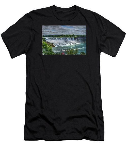 Niagara Falls 2 Men's T-Shirt (Athletic Fit)