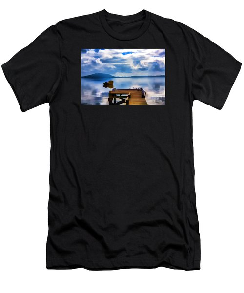 Nice Dock Men's T-Shirt (Athletic Fit)