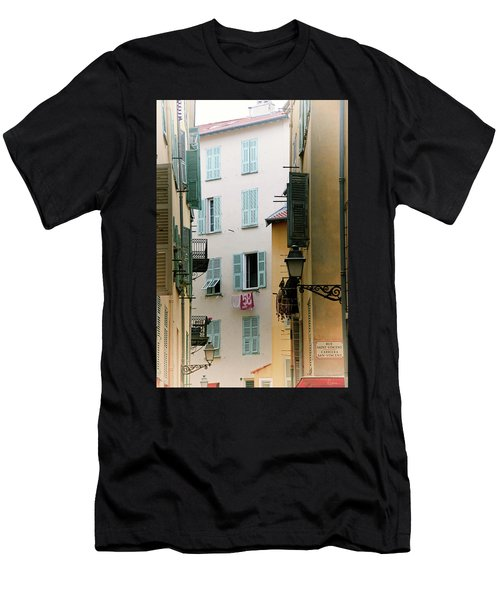 Men's T-Shirt (Athletic Fit) featuring the photograph Nice Pastel by Rasma Bertz