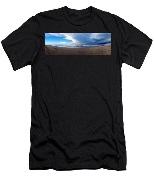 Nicki At Port Aransas Men's T-Shirt (Athletic Fit)
