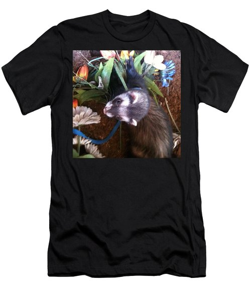 Nicky Wants This Flower Men's T-Shirt (Athletic Fit)
