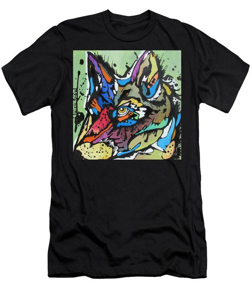 Nico The Coyote Men's T-Shirt (Athletic Fit)