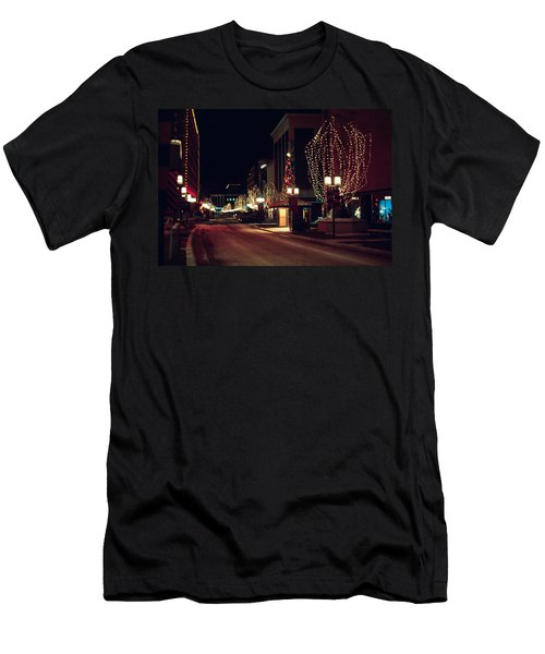 Nicollet Mall Christmas Men's T-Shirt (Athletic Fit)
