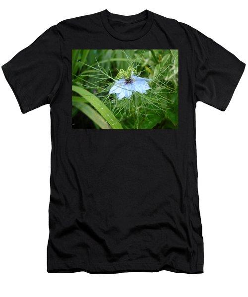 Nigella In Spring Rain Men's T-Shirt (Athletic Fit)