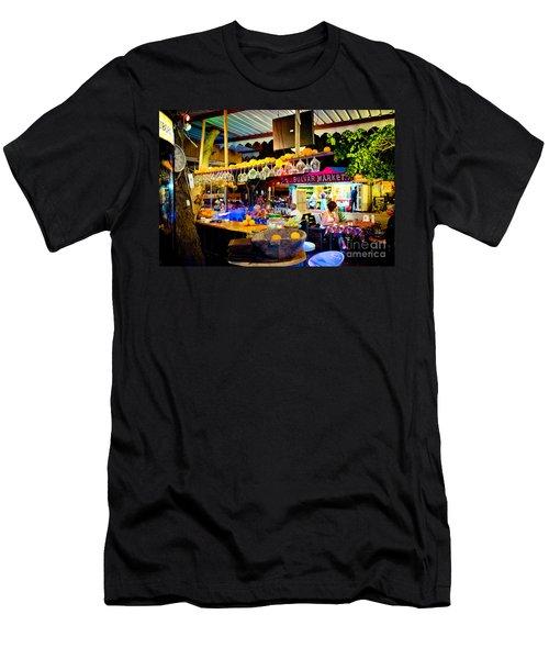 Night At Bar Men's T-Shirt (Athletic Fit)