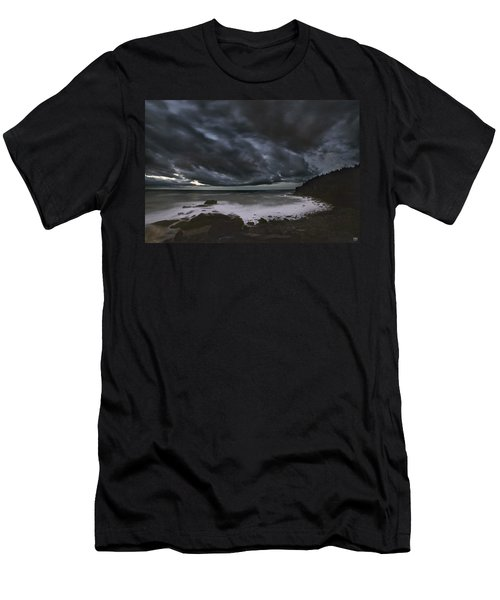 Night At Boulder Beach Men's T-Shirt (Athletic Fit)