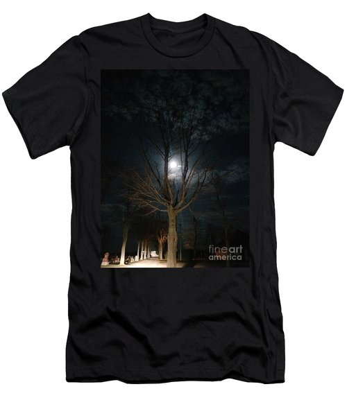 Night At The Graveyard Men's T-Shirt (Athletic Fit)