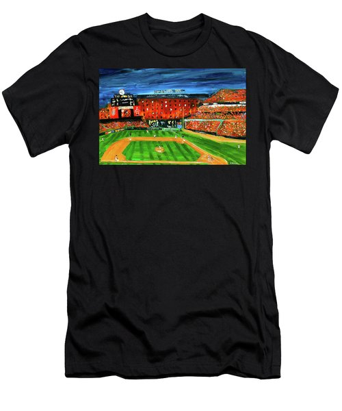 Night At The Yard Men's T-Shirt (Athletic Fit)