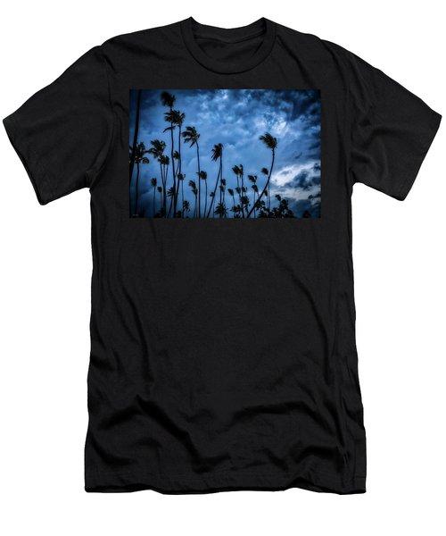 Night Beach Men's T-Shirt (Athletic Fit)