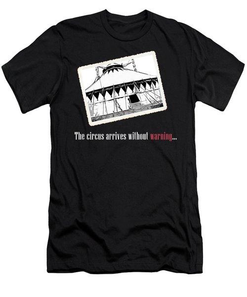 Night Circus Tee Black Men's T-Shirt (Athletic Fit)