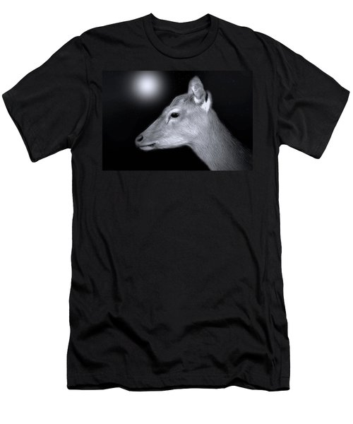 Night Doe Men's T-Shirt (Slim Fit) by Marion Johnson