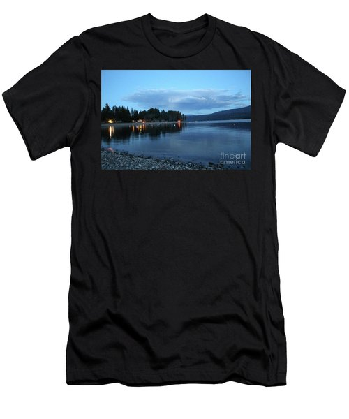 Men's T-Shirt (Athletic Fit) featuring the photograph Night Fall by Victor K