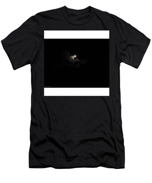 Night Flight From Moonimal By David Men's T-Shirt (Athletic Fit)