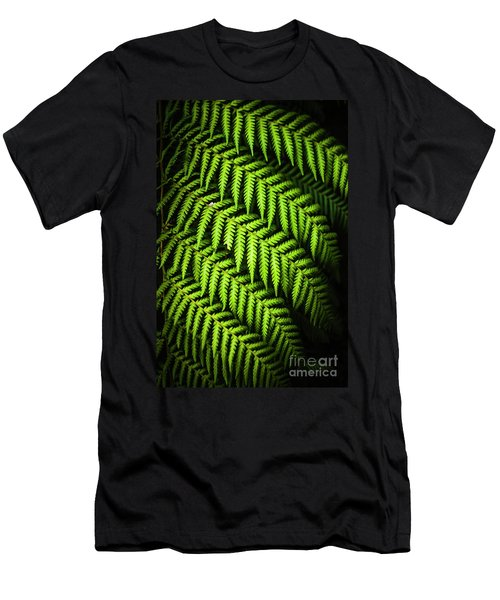 Night Forest Frond Men's T-Shirt (Athletic Fit)