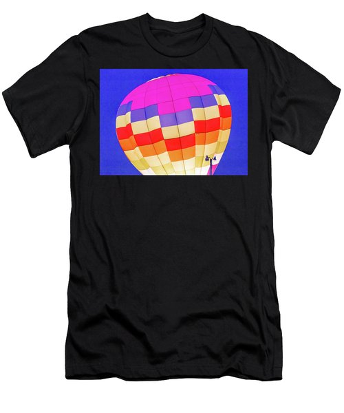 Night Glow At The Hot Air Balloon Festival Men's T-Shirt (Athletic Fit)