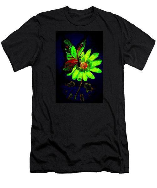 Night Glow Men's T-Shirt (Slim Fit) by Maria Urso
