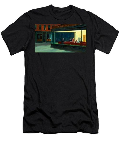 Night Hawks Men's T-Shirt (Athletic Fit)