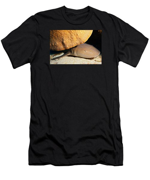 Men's T-Shirt (Slim Fit) featuring the photograph Nocturnal Hunter by Aaron Whittemore