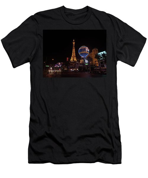Night In Vegas Men's T-Shirt (Athletic Fit)