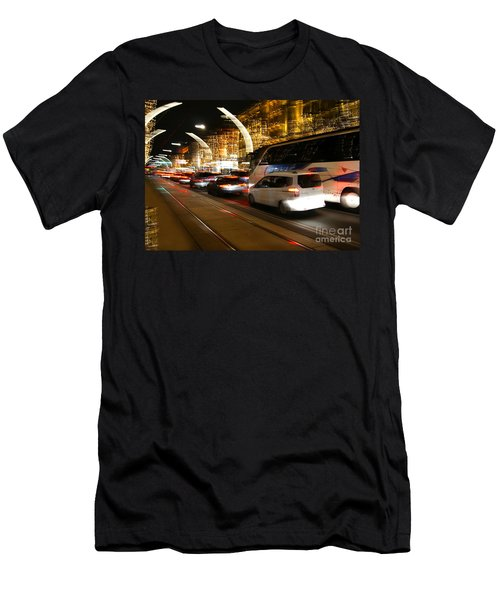 Night In Vienna City Men's T-Shirt (Athletic Fit)