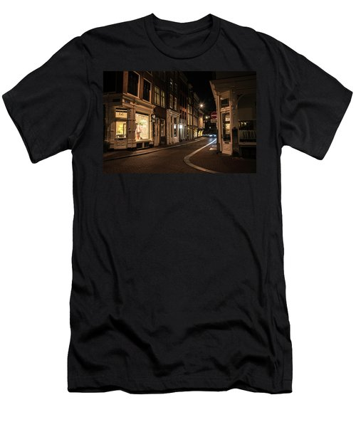 Night Men's T-Shirt (Athletic Fit)