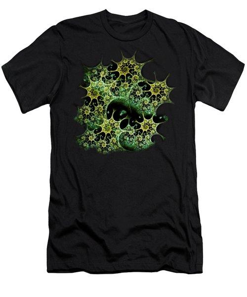Night Lace Men's T-Shirt (Slim Fit) by Anastasiya Malakhova