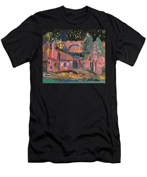 Night Landscape Men's T-Shirt (Athletic Fit)