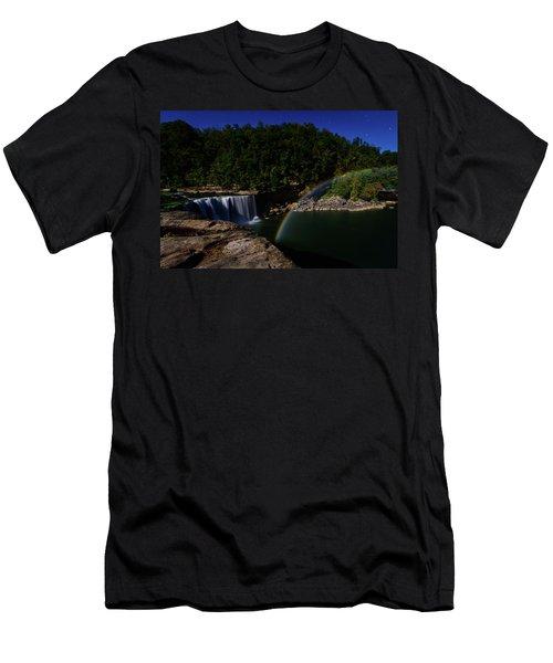 Night Lights Men's T-Shirt (Athletic Fit)