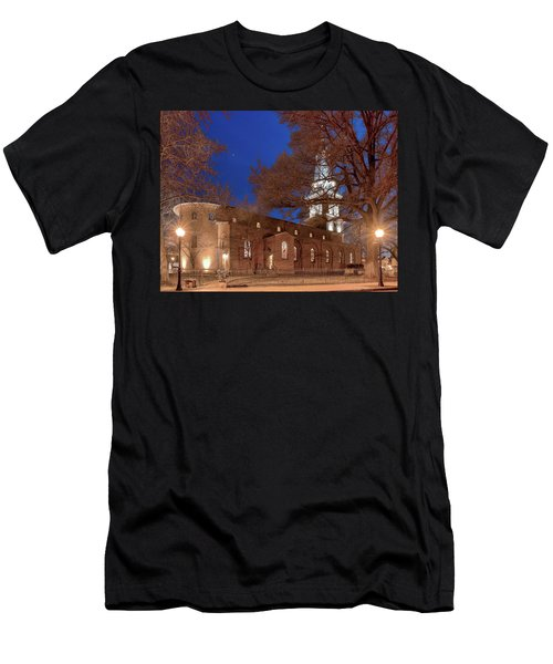 Night Lights St Anne's In The Circle Men's T-Shirt (Athletic Fit)