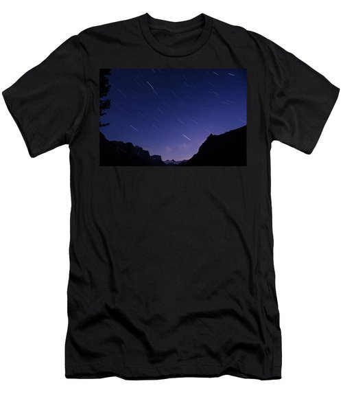 Men's T-Shirt (Athletic Fit) featuring the photograph Night Moves by Margaret Pitcher