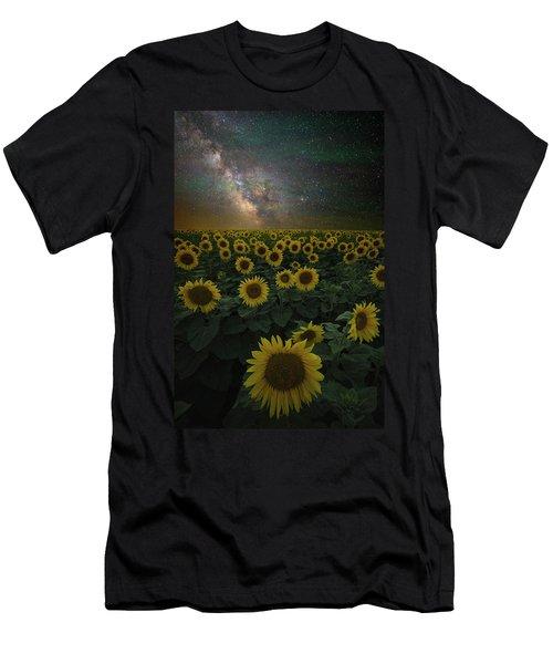 Night Of A Billion Suns Men's T-Shirt (Athletic Fit)