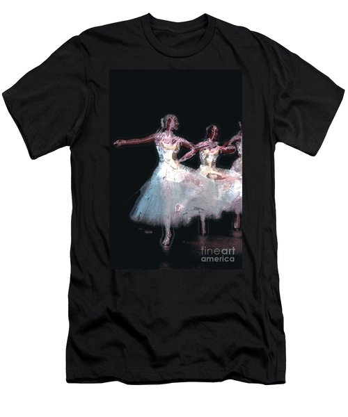 Men's T-Shirt (Athletic Fit) featuring the photograph Night Of The Ballet by Donna Bentley