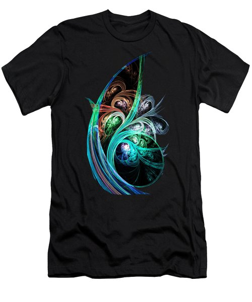 Night Phoenix Men's T-Shirt (Athletic Fit)