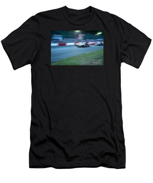 Night Races Men's T-Shirt (Athletic Fit)