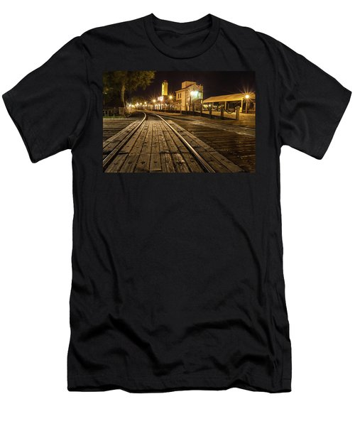 Night Rails Men's T-Shirt (Athletic Fit)