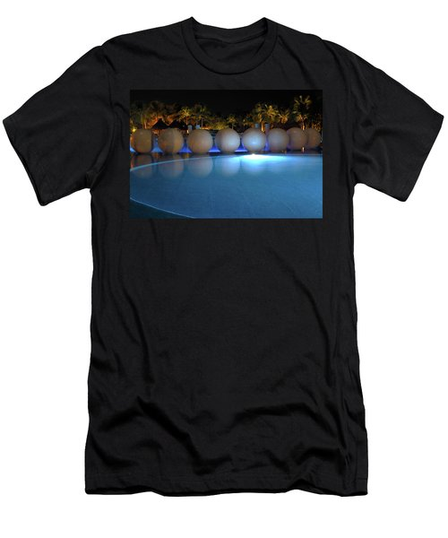 Men's T-Shirt (Athletic Fit) featuring the photograph Night Resort by Shane Bechler